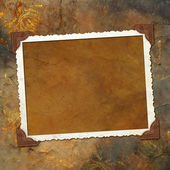 Framework for invitations on the vintage background. — Stock Photo