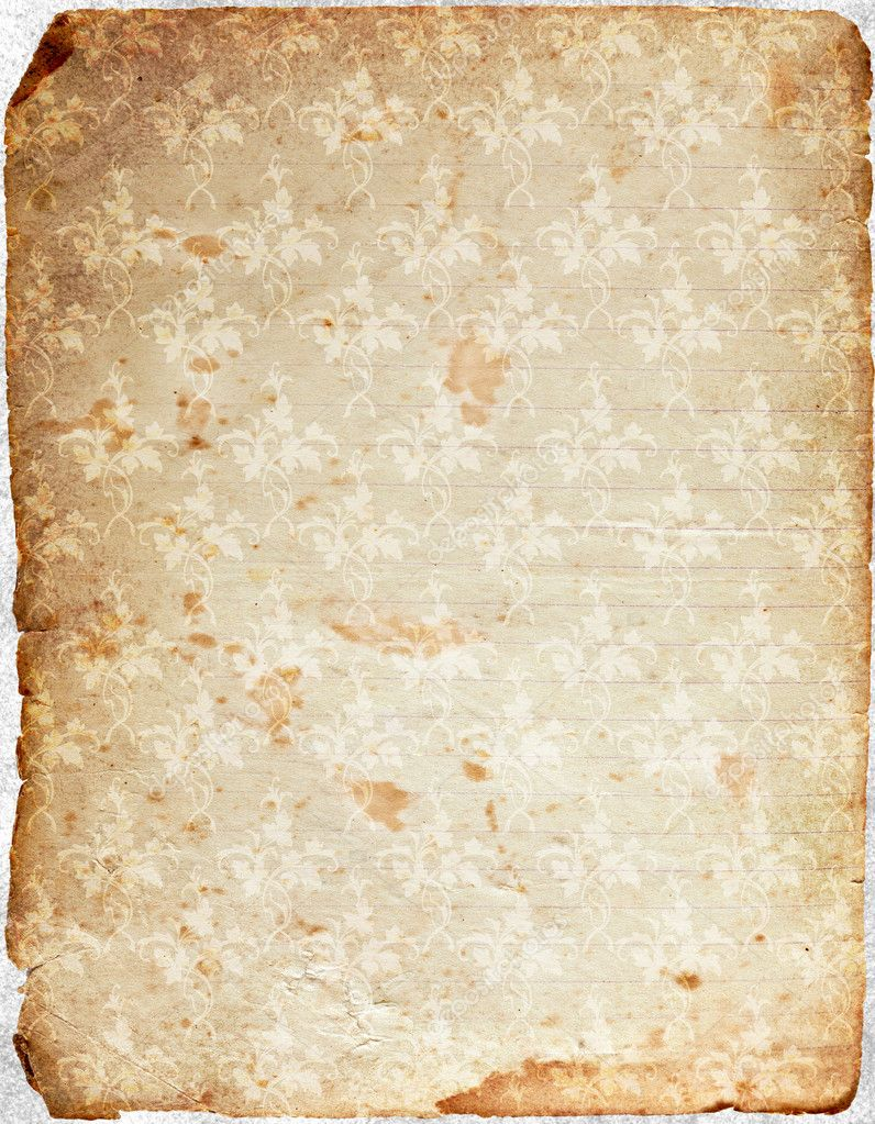 Decorative vintage paper  Stock Photo #5620050