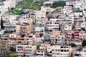 Arabische silwan dorp in oost-jeruzalem — Stockfoto