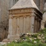 Ancient tomb of Zechariah in Jerusalem — Stock Photo #5683127