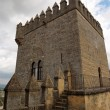 Tower of the medieval castle in Spain — Stock Photo
