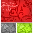 Three-colored background — Stock Vector #5723025