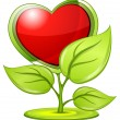 Love plant - Imagen vectorial