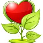 Love plant — Stock Vector #5723074