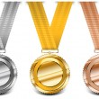 Medal collection — Stock Vector