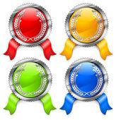 Certificados de color — Vector de stock
