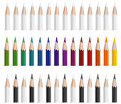 Color pencils — Vettoriale Stock