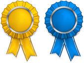 Premio rosetones — Vector de stock