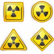 Royalty-Free Stock Vector Image: Nuclear symbol