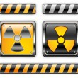 Royalty-Free Stock Vector Image: Nuclear icon