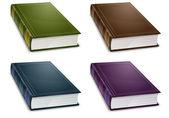 New book in colour cover — 图库矢量图片