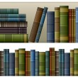 Royalty-Free Stock Vector Image: Vintage books