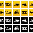 Transportation collection - Stock Vector