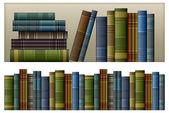 Libros antiguos — Vector de stock