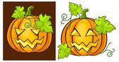 Zucche di halloween — Vettoriale Stock