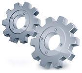 Vector gears — Stock Vector