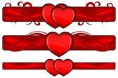Valentines ontwerpelement — Stockvector