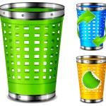 ������, ������: Plastic trash basket