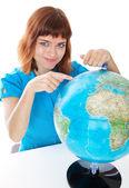 世界中の女の子 — ストック写真