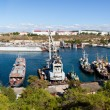 A landscape of the bay (Sevastopol, Ukraine) - Stock Photo