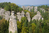 Bohemian Paradise. (Cesky raj near the Turnov) — Stock Photo