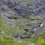 Trollstigen en Noruega — Foto de Stock
