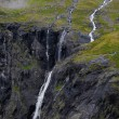Trollstigen in Norway - Foto Stock
