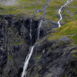 Trollstigen in Norway - Stockfoto