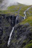 Trollstigen in Norway — Stock Photo