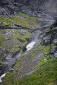 Trollstigen norveç — Stok fotoğraf