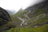 Trollstigen en norvège — Photo