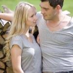 Loving couple outdoor — Stock Photo #6421520