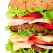 Big hamburger — Stock Photo #6250475