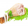 chicken leg&quot — Stock Photo #6250526