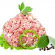 Pork mince — Stock Photo