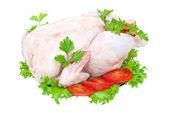 Raw chicken — Stock Photo