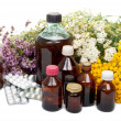 Stock Photo: Herbal medicine