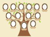 árvore genealógica — Vetorial Stock