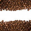 Coffee beans stripes — Stock Photo