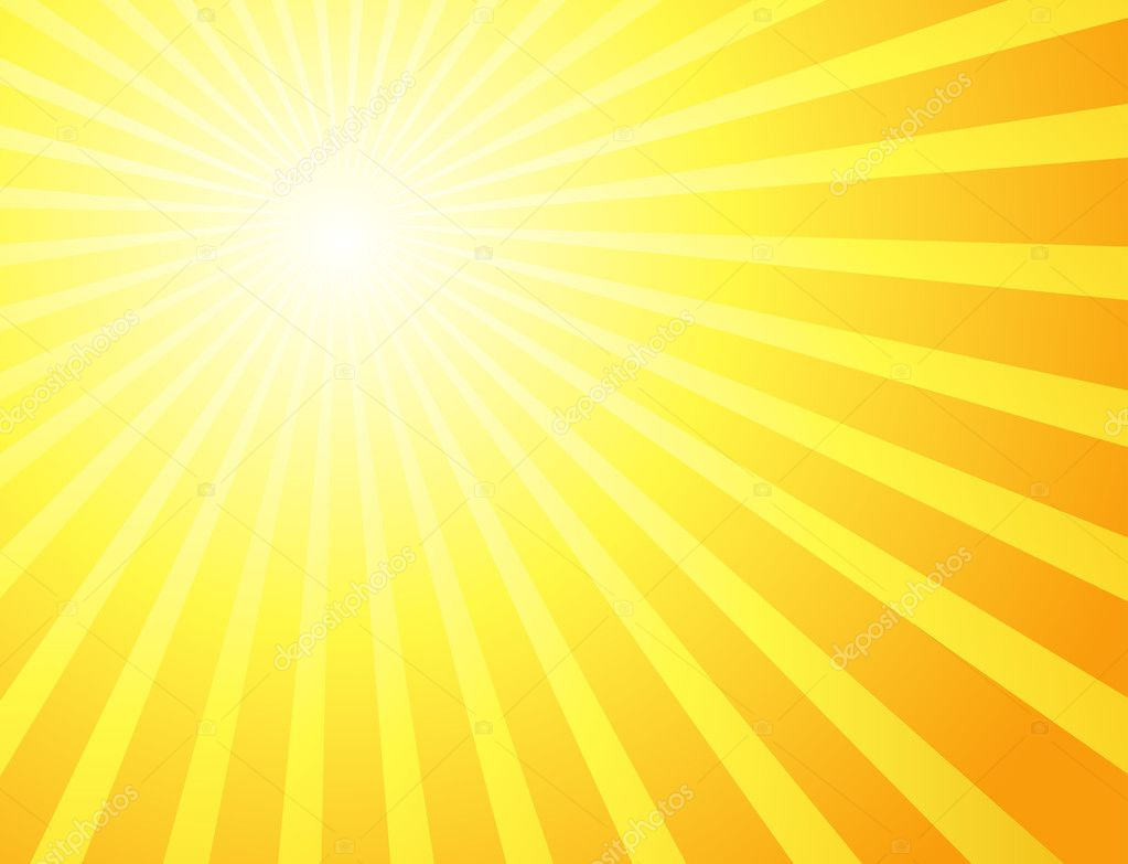 Sunburst vector background  Stock Photo #5465373