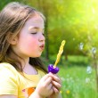 Child in summer - Stock Photo
