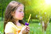 Niño en verano — Foto de Stock