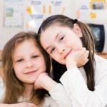 Schoolgirls — Stock Photo