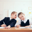 Royalty-Free Stock Photo: Schoolchildren