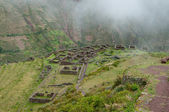 Incas livings not far from Pisac — Stock Photo