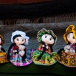 Beautifull dolls from Peru — Stock Photo