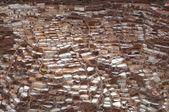 Ancient Salt Basins at Maras, Peru — Stock Photo