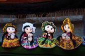 Beautifull dolls from Peru — Stock Photo
