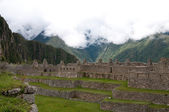 Houses for citizens at Machu Picchu — Stock Photo
