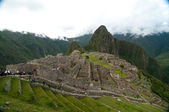 Machu Picchu sightseeing — Stock Photo